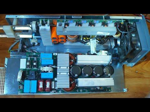 inside a 56V several kW server power supply (unedited)