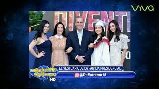 Familia Abinader vestuario toma de posesión - Farandula Extrema