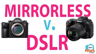 Mirrorless vs DSLR Cameras