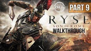 Ryse Son of Rome Walkthrough - Part 9 GLOTT BOSS - Let