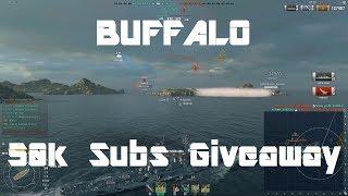 Buffalo & 50k Subs Huge Giveaway!