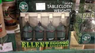 Big Green Egg Table Cloth Weights