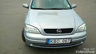 Авто из Литвы в Украину.Обзор Opel Astra 1.6 бензин