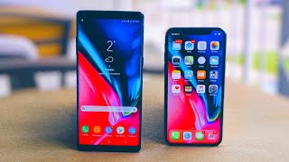 connectYoutube - iPhone X vs Samsung Galaxy Note 8: There's Only One King