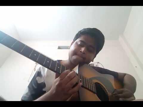 Iddarammayilatho violin intro guitar cover