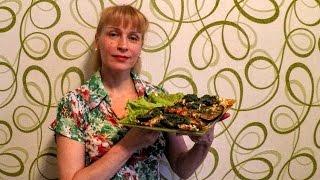 Чыхыртма из баклажан вкусный рецепт закуски на стол