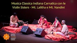 Induismo e Arte - Musica Carnatica - Violin Sisters - 2a parte