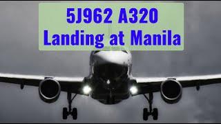 5J962 Manila Arrival Rwy 24