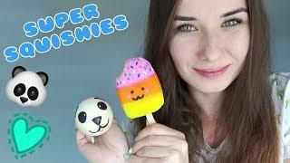 SUPER SQUISHIES, SLIME I PUTTY #5   Lody Na Patyku   Squishy Z Balonika - Panda