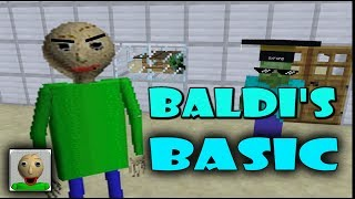 MONSTER SCHOOL : Baldi's Basic in Education and Learning