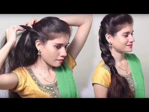 3 Different party Hairstyle at Last Minute || Indian Wedding hairstyles videos  | DIY Hairstyles