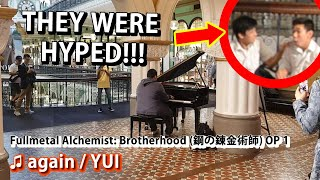 Download lagu I played FULLMETAL ALCHEMIST: BROTHERHOOD OP on piano in public