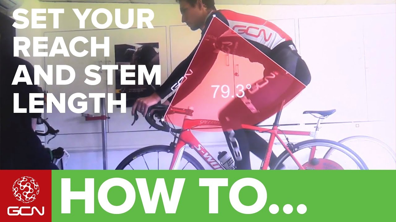 How To Perform A Bike Fit Reach And Stem Length For Road Cycling