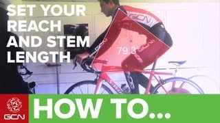Download Video How To Perform A Bike Fit - Reach And Stem Length For Road Cycling MP3 3GP MP4