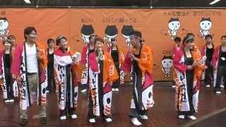 2014年8月3日(日) OHKの踊り連 岡山駅前 矢野みなみ 中西悠理 神谷文...