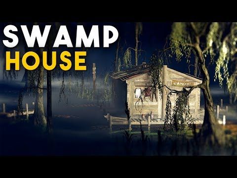 RUST   LIVING OFF GRID In a HIDDEN SWAMP BASE - Solo Survival thumbnail