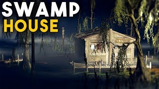 RUST | LIVING OFF GRID In a HIDDEN SWAMP BASE - Solo Survival