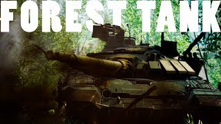 Forest Tank Domination - Squad V12 T-72 Full Crew Tank Gameplay
