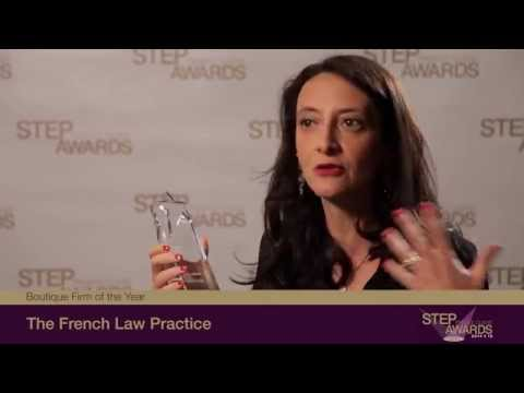 2014/15 STEP Private Client Awards - Boutique Firm of the Year The French Law Practice