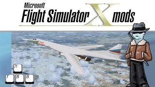 Flight Simulator X Plane Spotlight - Tupolev TU-160 Blackjack