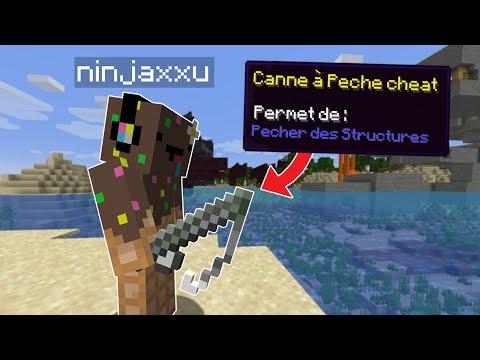 Minecraft mais je peux pêcher des Structures.. (assez wtf)