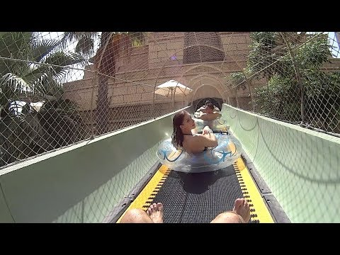 Aquaventure Waterpark at Atlantis the Palm Dubai (Arab Music Clip!)