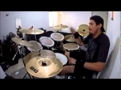STRAPPING YOUNG LAD - Aftermath - Drum cover (GoPro) mp3