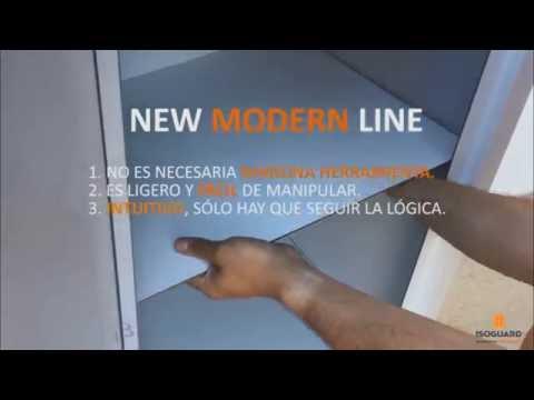Armario exterior aluminio youtube for Kit armario aluminio exterior