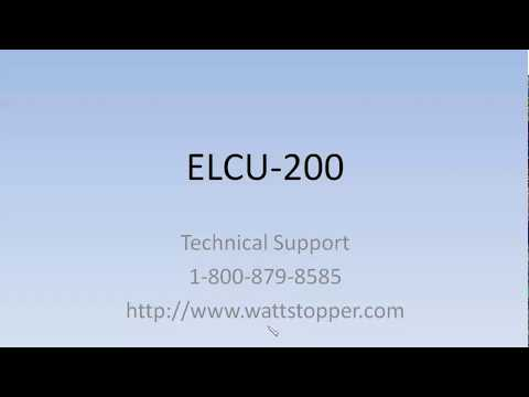 Wattstopper Elcu Wiring Diagram Soccer World