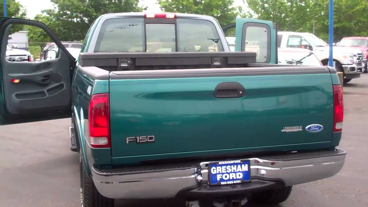 1997 ford f150 xlt extra cab 3 dr with 4 6lt tritan v8 at gresham ford youtube