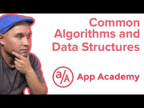 What are some common algorithms and data structures