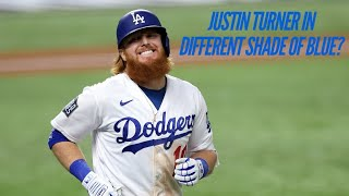 Free agent justin turner reportedly is drawing interest from the toronto blue jays in addition to los angeles dodgers. #dodgerblue #dodgers #justinturner...