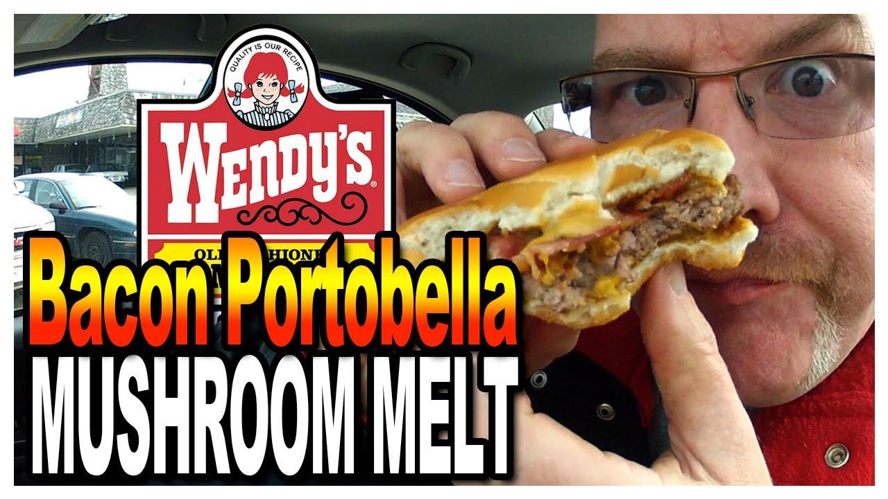 Wendy's Bacon Portobella Mushroom Melt Taste Test & Review