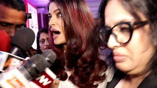 Aishwarya Rai Harassed By Media Reporters Publi...