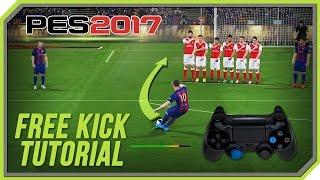 PES 2017 Free Kick Tutorial [PS3, PS4]