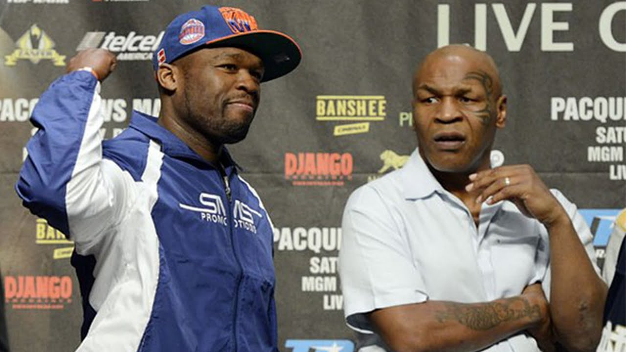 50 Cent Tells A Story Of When Mike Tyson Got Mad & He Was Scared He Might Have To Fight Him