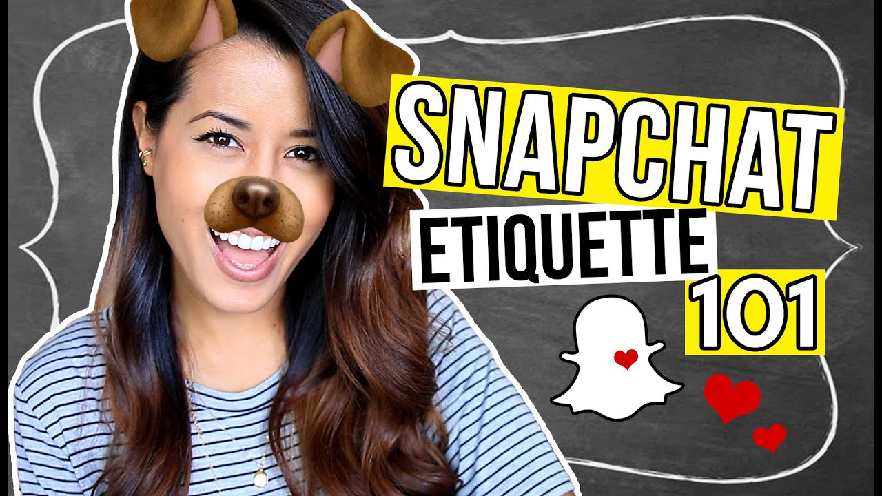 HOW TO USE SNAPCHAT: Do's & Don'ts // Tips & Tricks | Ariel Hamilton