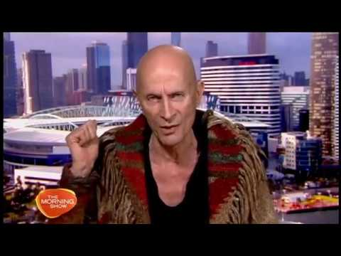 Rocky Horror creator Richard O'Brien, 2015 live  on Ch 7's 'The Morning '