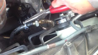 How to flush automatic transmission 2003 Toyota Camry