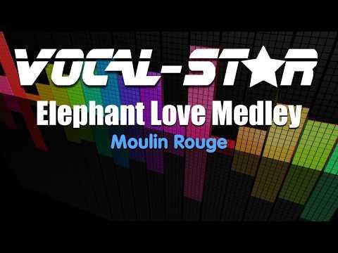 Moulin Rouge - Elephant Love Medley (Karaoke Version) With Lyrics HD Vocal-Star Karaoke