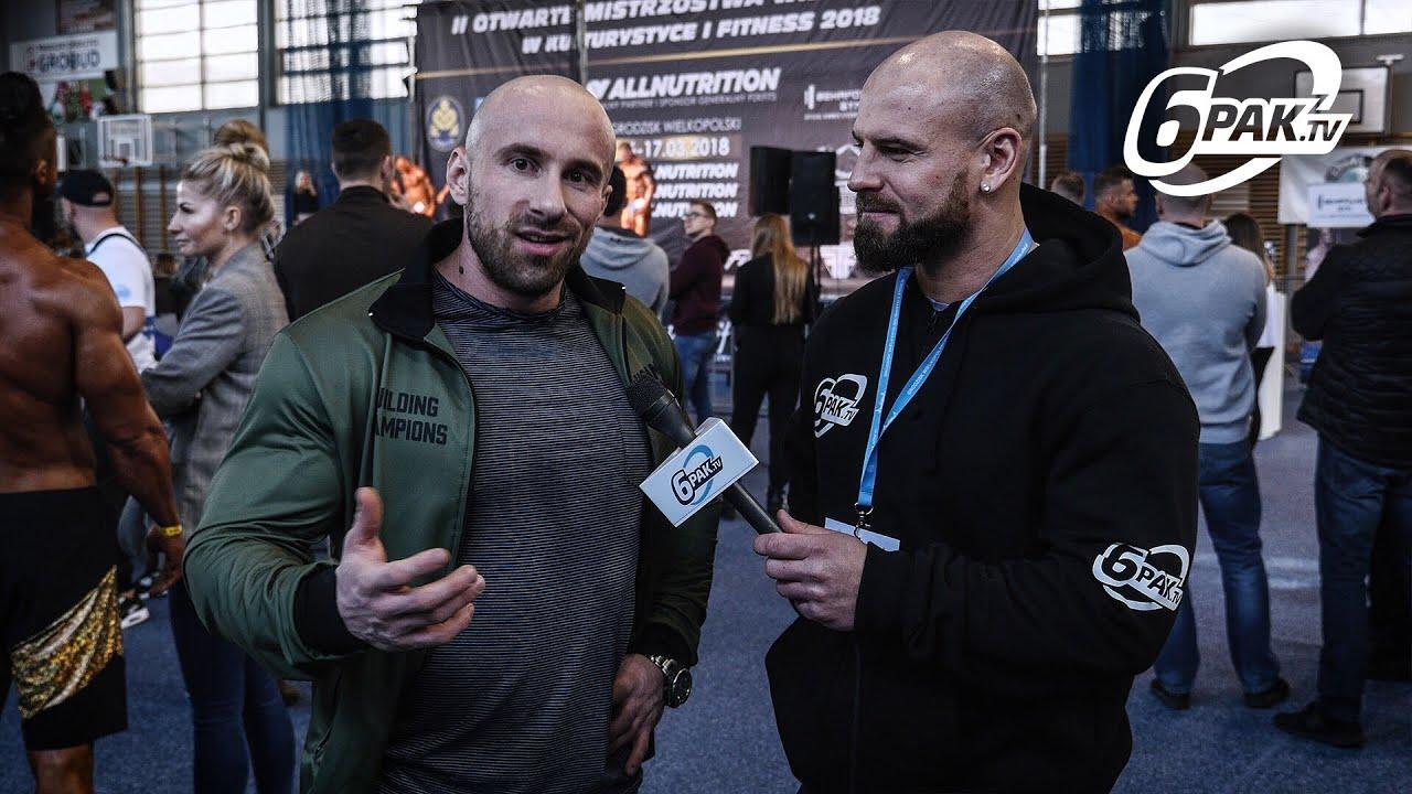 Szymon Łada o IFBB Elite PRO, swoim progresie i planach startowych II OTWARTE MISTRZOSTWA WLKP