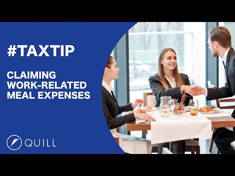 Claiming Meal Expenses In Your Tax Return