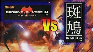 Radiant Silvergun Vs Ikaruga