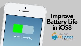 Improve Battery Life in iOS 8 [HOW TO:]