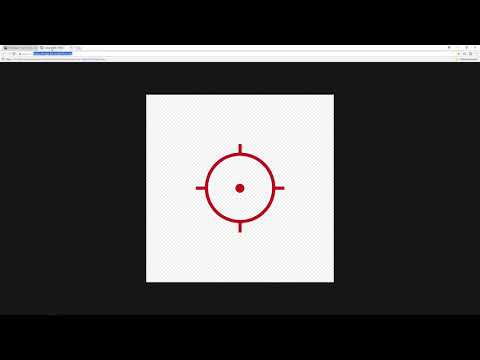 Custom crosshair/reticle for any PC game (battlefront 2