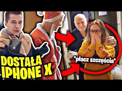 DOSTAŁA OD NAS IPHONE X i popłakała się ze SZCZĘŚCIA! w/ Friz *niesamowita reakcja*