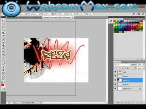 How To Make Graffiti On Photoshop Youtube