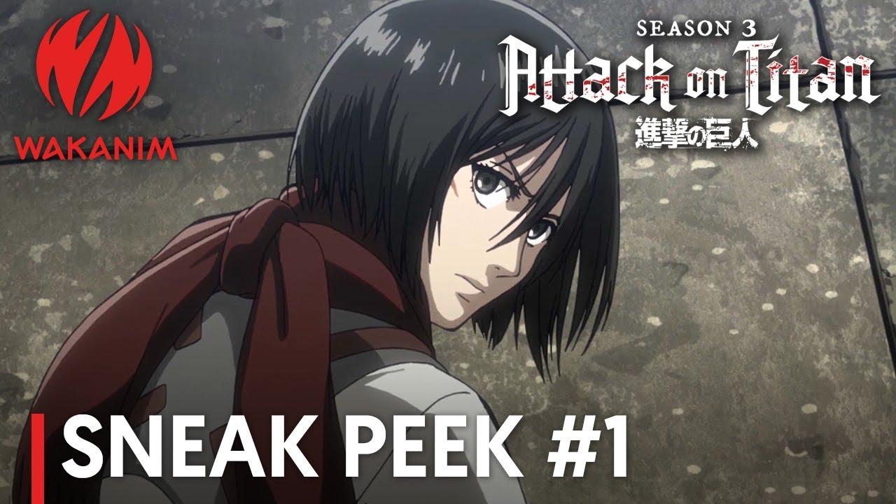 Attack On Titan Season 3 Mikasa Strikes Back English Sub Youtube Fan art of mikasa ackerman for fans of shingeki no kyojin (attack on titan) 37164492. attack on titan season 3 mikasa strikes back english sub