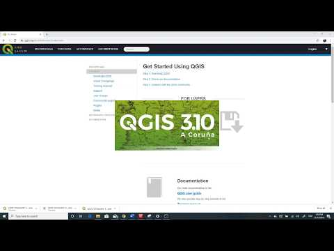 How to download and Install QGIS 3.10  ( 2019)