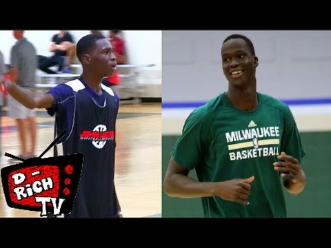 6'10 8th Grader Pape Momar Cisse Has Thon Maker Potential  Co 2021 Basketball